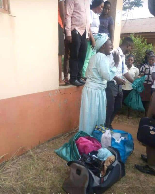 Image result for Man Caught With P a n t s In Female Hostel In Ogun State