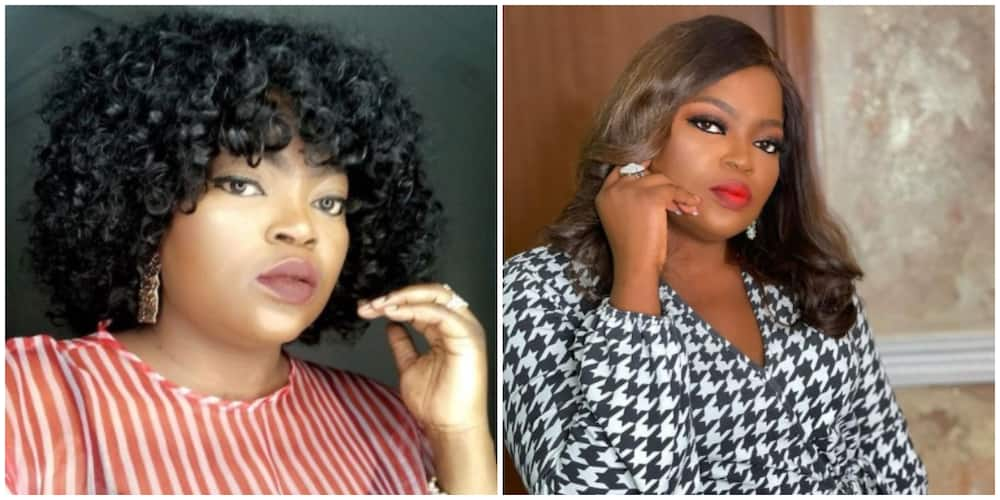 Funke Akindele says those who looked down on her back then will surely be regretting