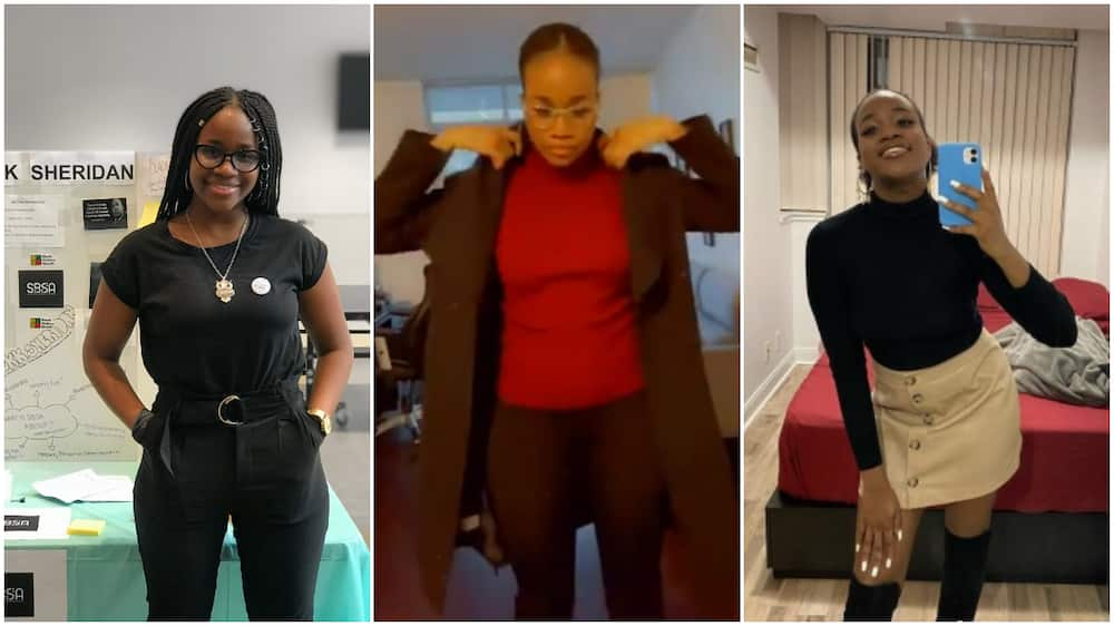 Nigerian lady Olufunlola gets juicy job at Samsung in Canada, shows she's happy
