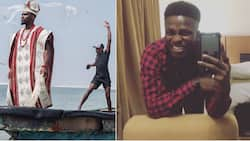 Tobi Bakre reacts after film director accuses him of stealing his creative concept