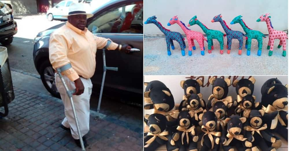Exclusive: Physically challenged Moses inspires with unique creations