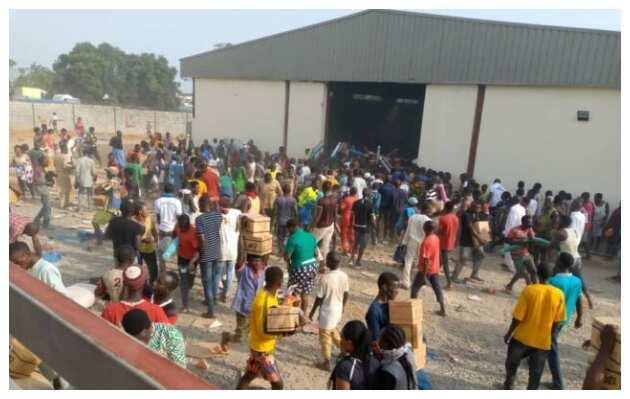 EndSARS: Thugs loot COVID-19 palliatives at warehouse in Abuja