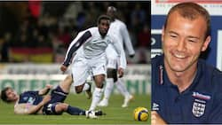 England legend Alan Shearer shower praises on Jay-Jay Okocha, makes huge confession about Nigerian legend