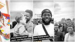 Davido allows heir apparent Ifeanyi to meet massive crowd of fans for 6 seconds, says he has met the 'streets'