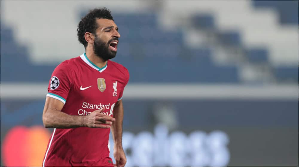 Mohamed Salah levels-up with Steven Gerrard's all-time Champions League goal record