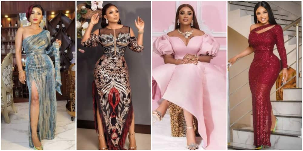 Fashion Focus: 10 Times Iyabo Ojo Inspired Fans With Trendy Red Carpet Looks