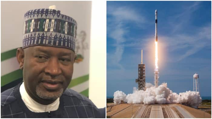 How SpaceX Falcon 9 rocket flew over Nigeria on way to Space Station (video)