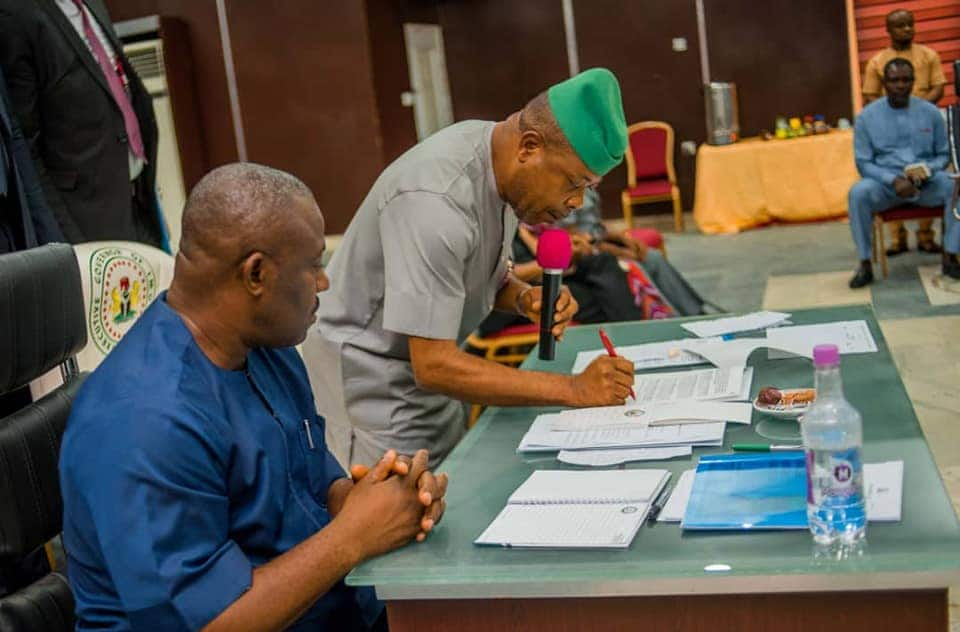 Imo: 36-year-old, former minister, 15 others make Gov Ihedioha's cabinet - Legit.ng