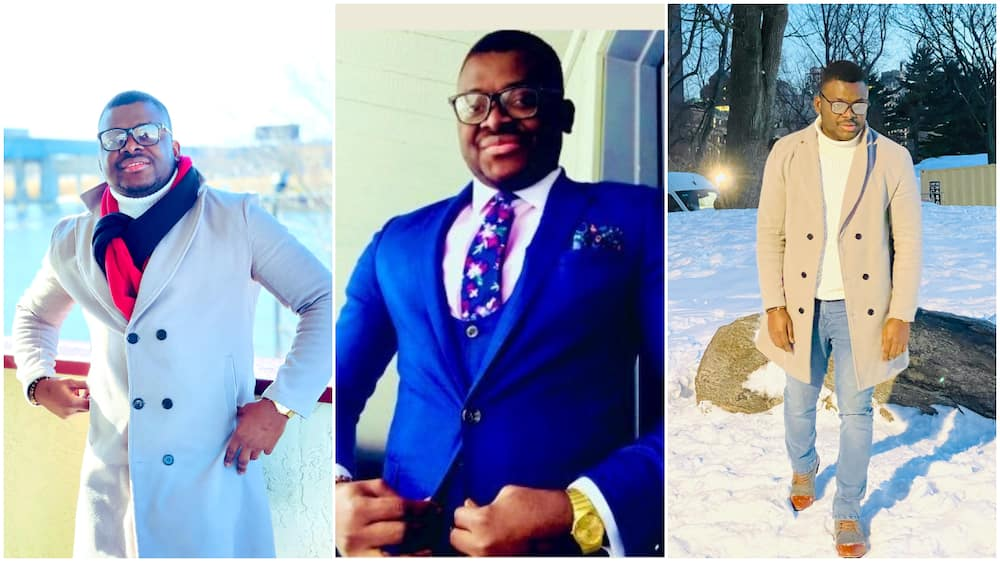 Nigerian Man Teaching in US University Gets big Compliment from Students for Dressing Well