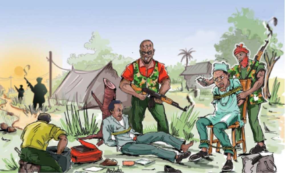 An kashe mutum ɗaya, an sace wasu da dama a hanyar Kaduna zuwa Abuja