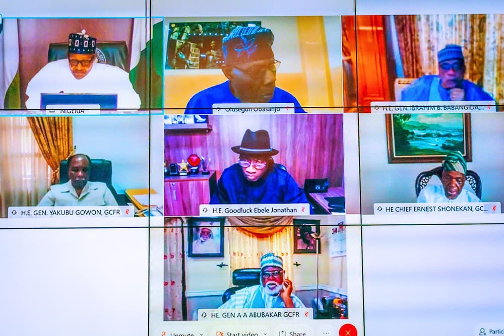 EndSARS: Details of President Buhari's Parley with Former Heads of State