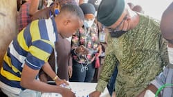 Ogun LG election: Governor Abiodun votes, shares photos from polling unit