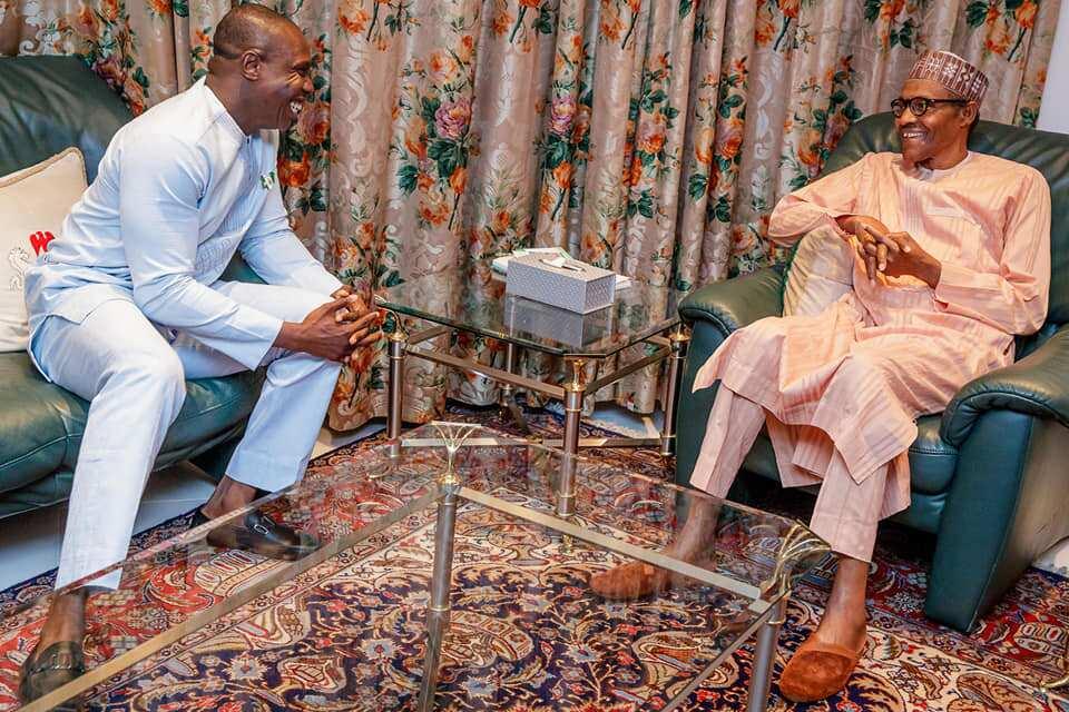 2023: 'Dan Tsohon Shugaban kasa Obasanjo ya daurewa Gwamnan APC gindi ya shiga takara