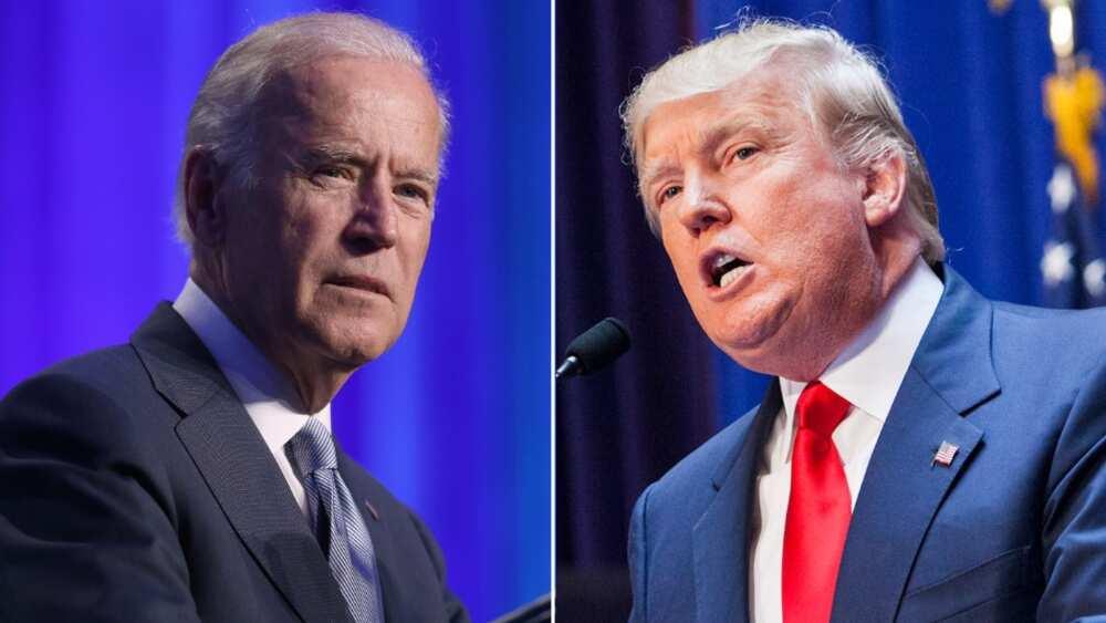 Za a yi juyin juya hali idan har Biden ya zama shugaban Amurka - Trump