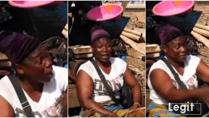 Nigerian market woman laments hardship in heartbreaking video, calls on government to save masses, many react