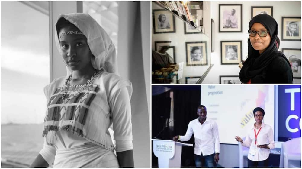 Nigerian lady bags first class from 2 top foreign schools, builds app