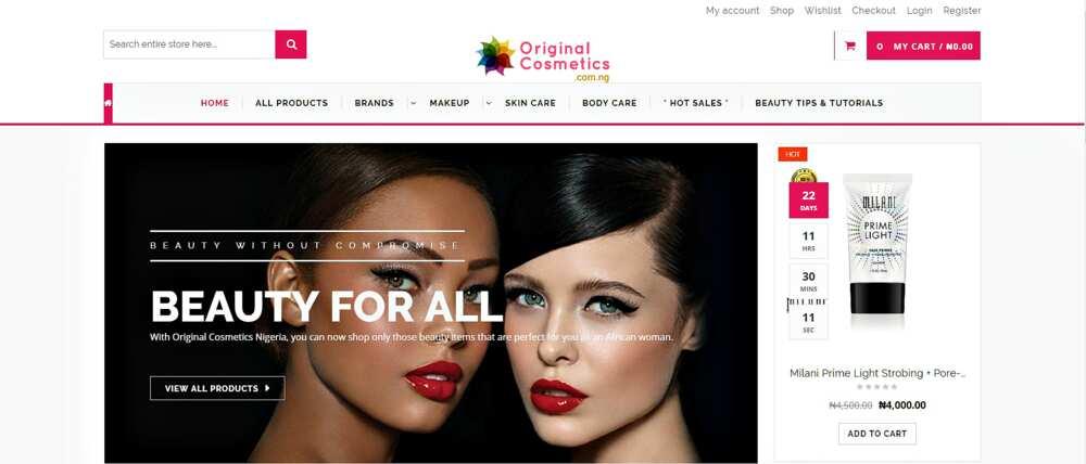 Online Makeup S In Nigeria Top