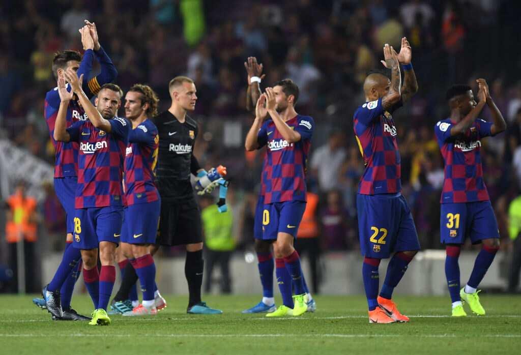 Barcelona vs Real Betis: Griezmanm's brace inspires Blaugrana to 5-2 win over Verdiblancos