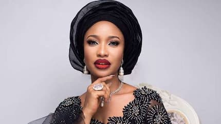Tonto Dikeh reveals she won't kiss her man again after discovering he eats grasshoppers