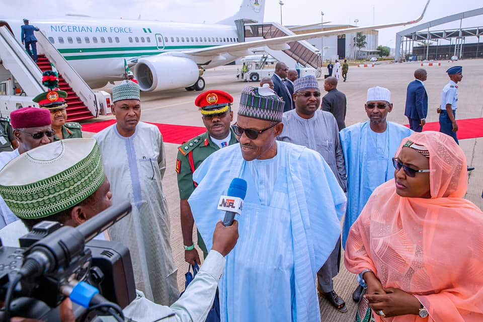 Buhari reportedly says Nigerians are happy with border closure