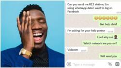 The funniest conversation between a jealous boyfriend and his girlfriend's crush (screenshots)
