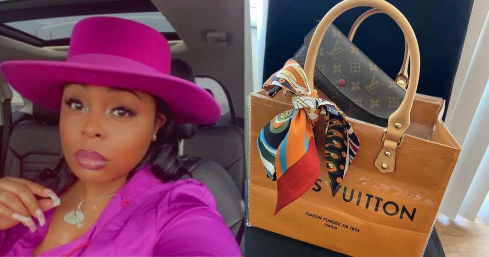 Woman Transforms Louis Vuitton Shopping Bag Into Stunning Handbag