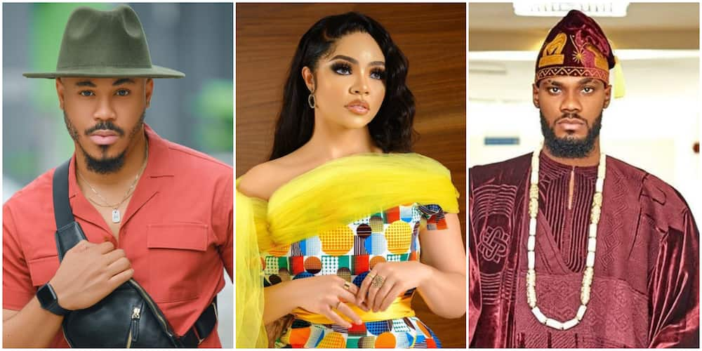 BBNaija Reunion: Prince , Ozo talk about their issues.