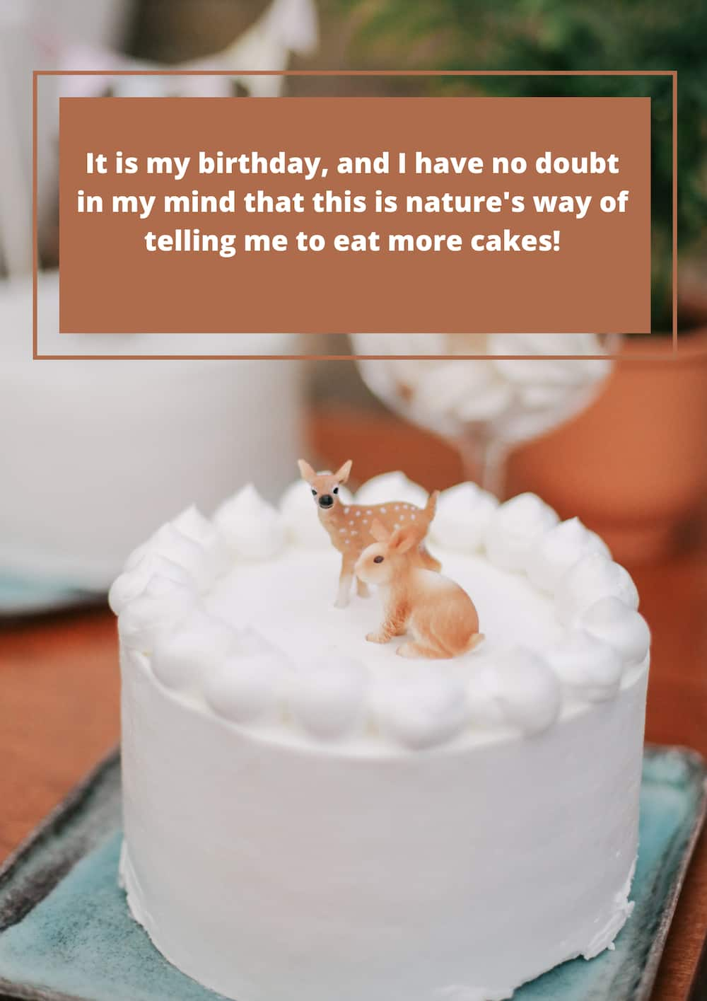 Birthday wishes for self
