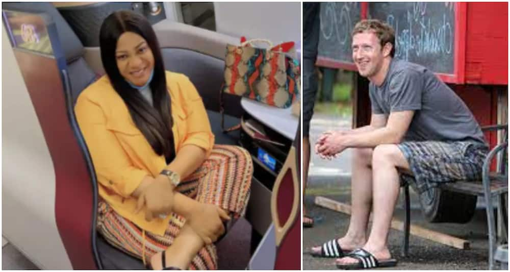 I Can't Do Pass Myself: Nkechi Blessing Says After Viral Photo of Billionaire Mark Zuckerberg Dressed Humbly