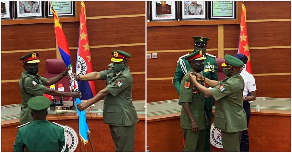 Breaking: Leo Irabor takes over as Nigeria's 17th Chief of Defence Staff