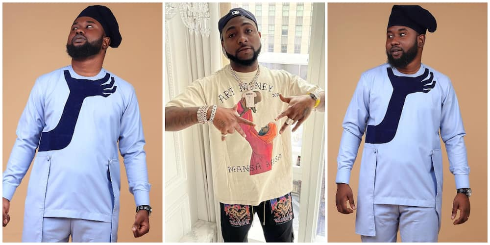 I Want Davido to Rock it, Meet Designer Who Created Viral 'E Choke' Outfit, Says Singer's Manager Has Reacted
