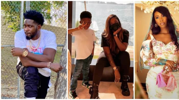 Teebillz defends Tiwa Savage following blackmail claims, calls her a 'great mother' to their son
