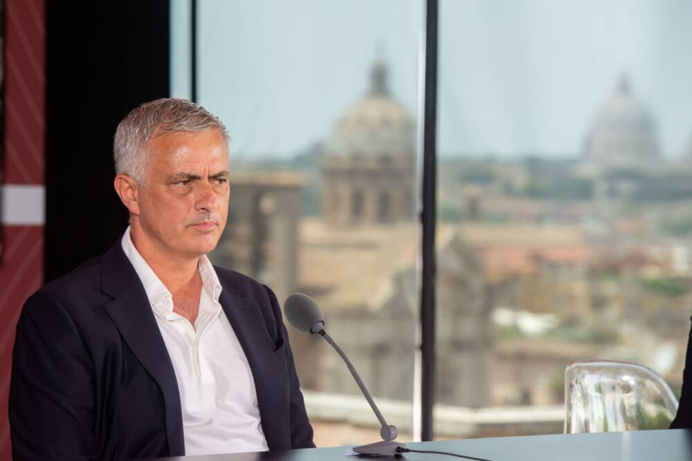 Jose Mourinho 'attacks' Man United and Tottenham after starting new role at Roma