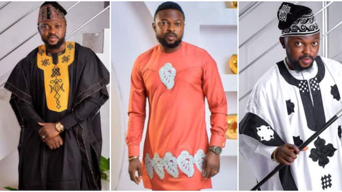 8 photos of Toyin Abraham's husband rocking unique traditional outfits in style