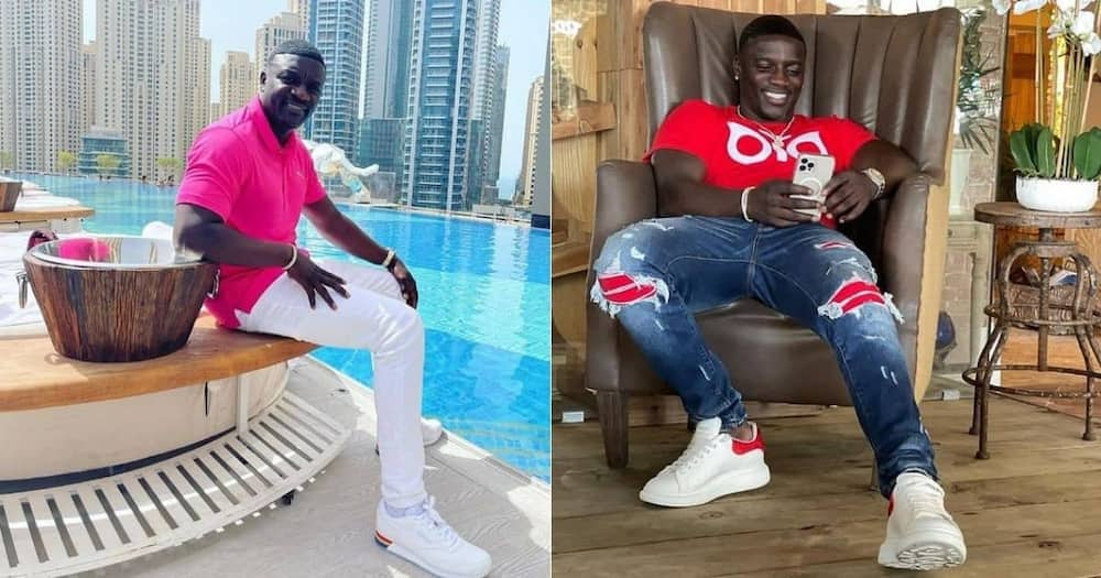 Michael K Williams, Akon, catches smoke, for claiming, rich people, suffer more