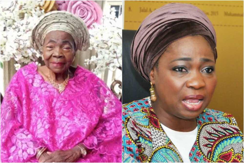 Breaking: Tears as Buhari's aide Dabiri-Erewa loses mum, presidency reacts