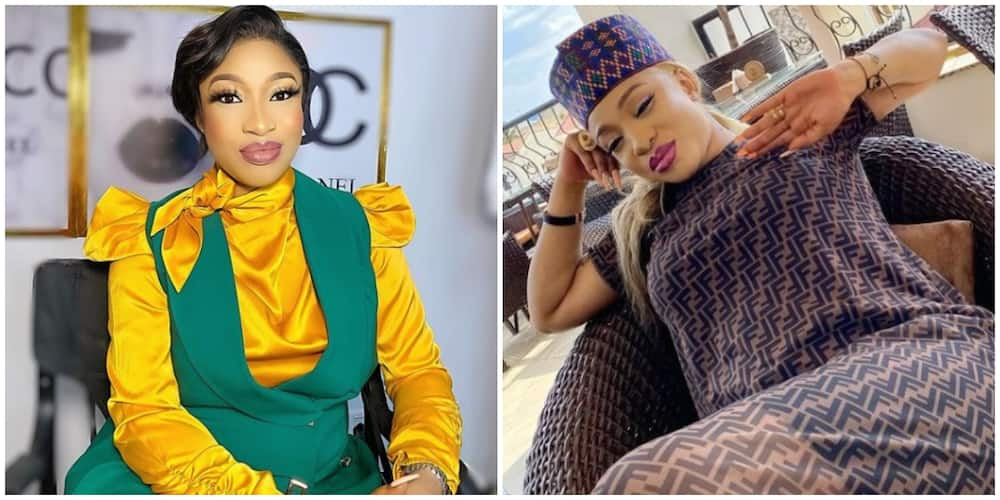 Nollywood Star Tonto Dikeh Reveals She's Colour Blind, Camera-Shy in Fun Facts about Herself