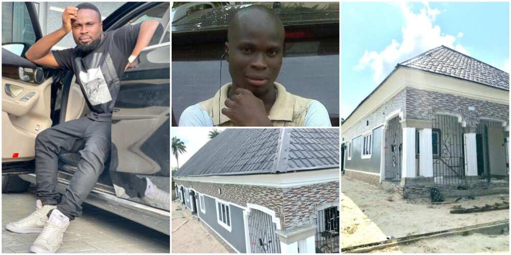 Sir Balo emotional builds massive 8-bedroom house for mother