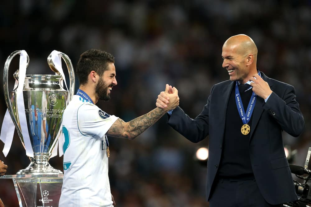 Isco, Real Madrid star, reportedly seen complaining about Zidane's sub timing