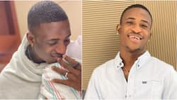 Congratulations pour in for actor Alesh Ola as he welcomes first child, shares cute photo online
