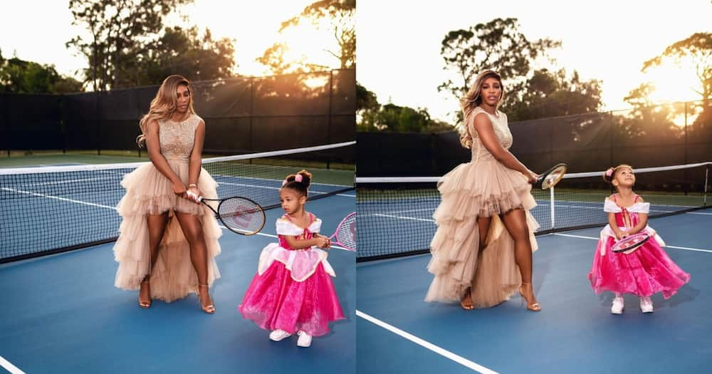 Serena Williams and Adorable Alexis Stun the Net With Amazing Snaps