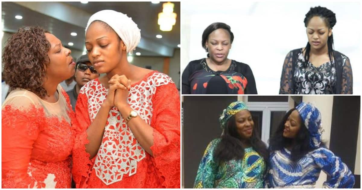 5 rare photos and videos of Ooni of Ife's wife, Olori Naomi with her pretty mom