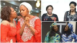 5 times Ooni of Ife's pretty wife, mom dished out mother and daughter goals (photos, videos)