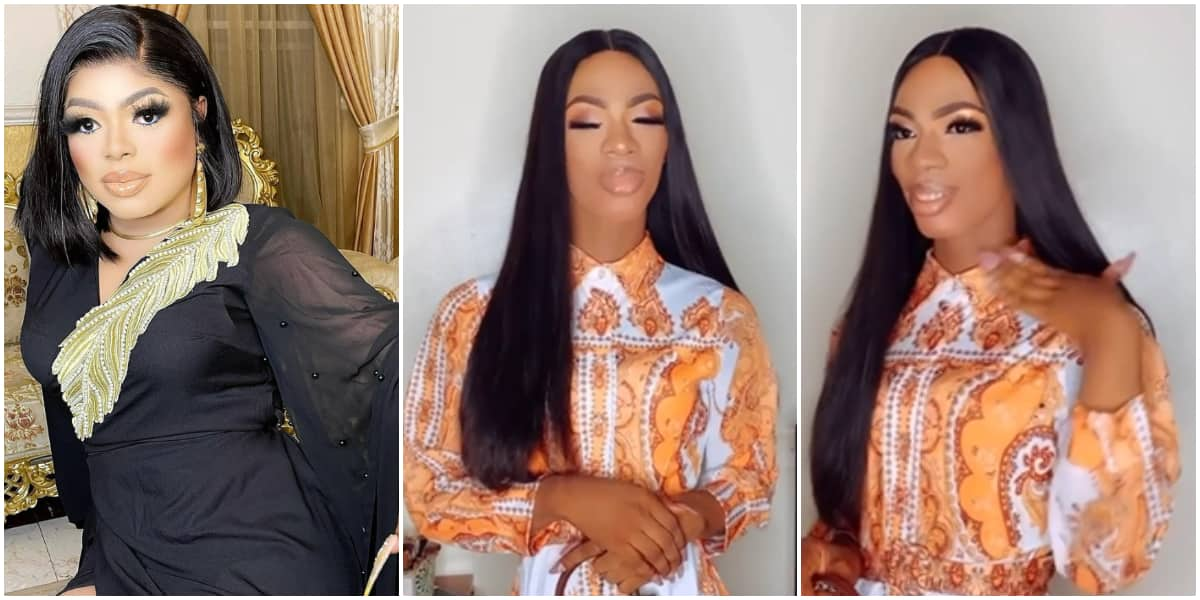 James Brown looks pretty in new video, takes a swipe at Bobrisky