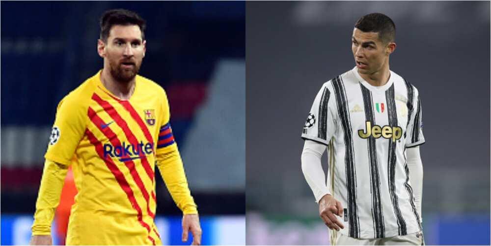 Former Real Madrid star picks Messi ahead of Ronaldo for 2021 Ballon d'Or award