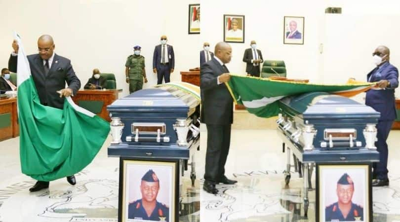 Tears, tributes as prominent Niger Delta leader is laid to rest in Akwa Ibom state
