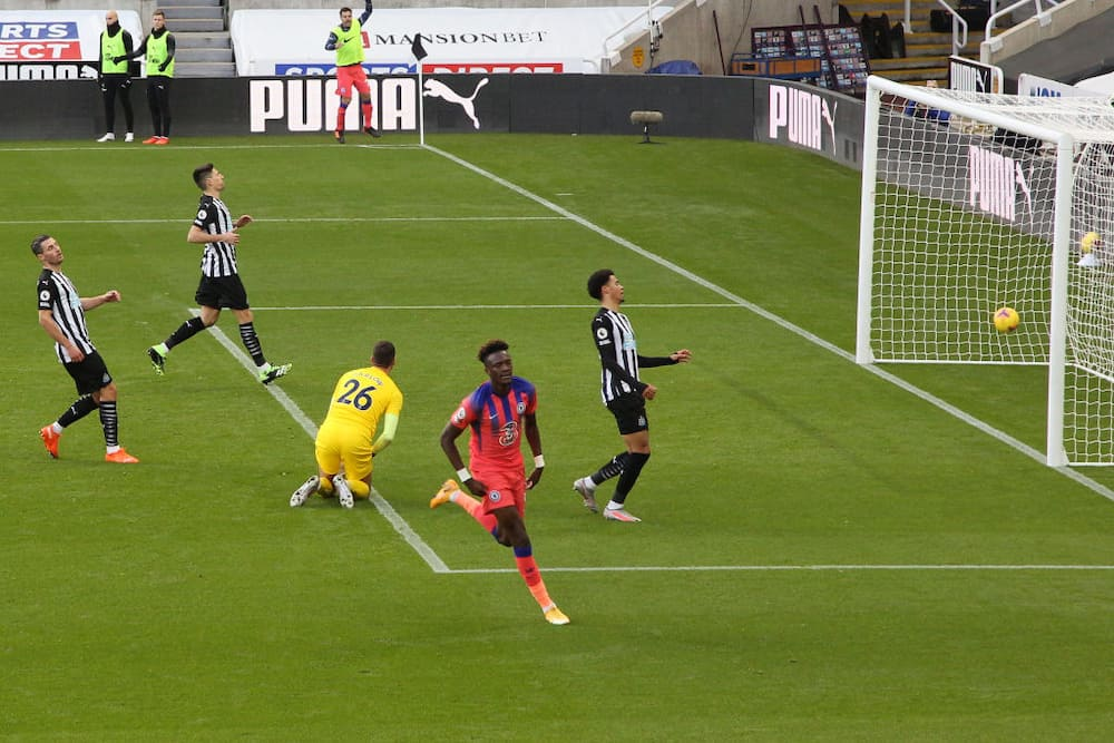 Newcastle United vs Chelsea: Abraham fires Blues to top of Premier League table