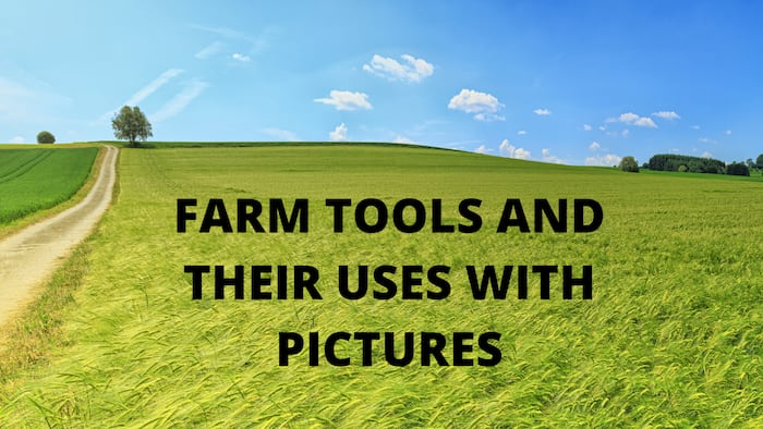 Common farm tools and equipment: Names, uses, and pictures