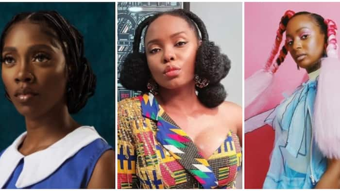 Hairstyles back in vogue: Cuppy, Tiwa Savage, 6 others show off stylish retro African hairdos