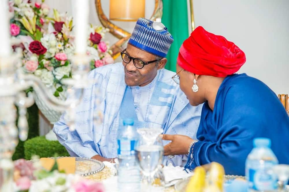 First Lady Aisha Buhari explains how she survived early marriage